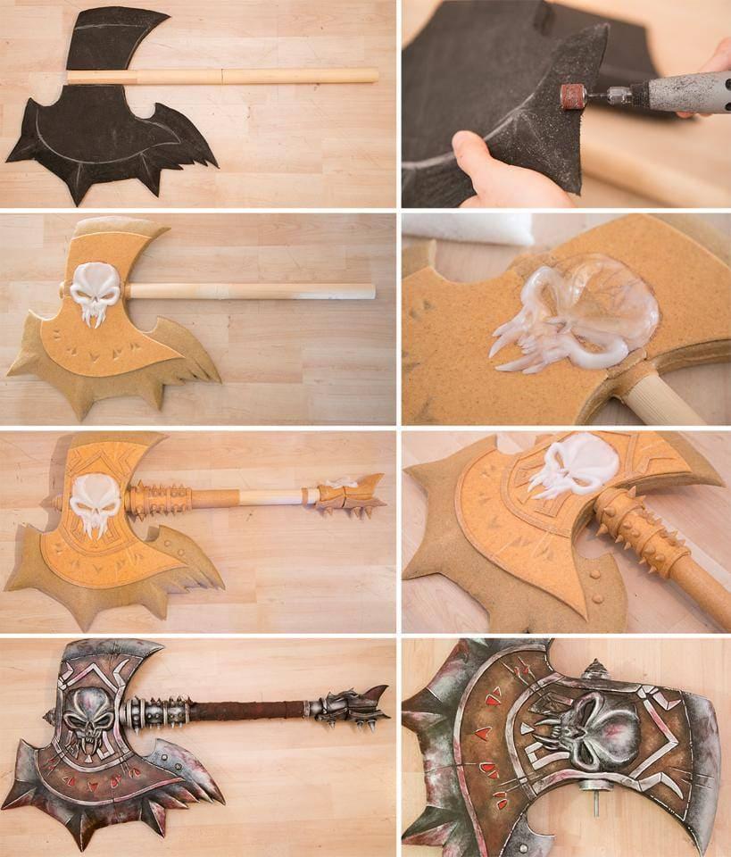 Expanding Foam Craft Ideas