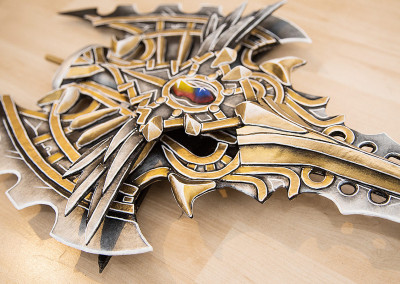 103_Lineage2_Spear_Kamui_Cosplay_Props