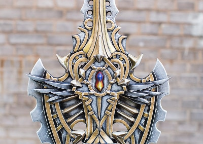 104_Lineage2_Spear_Kamui_Cosplay_Props