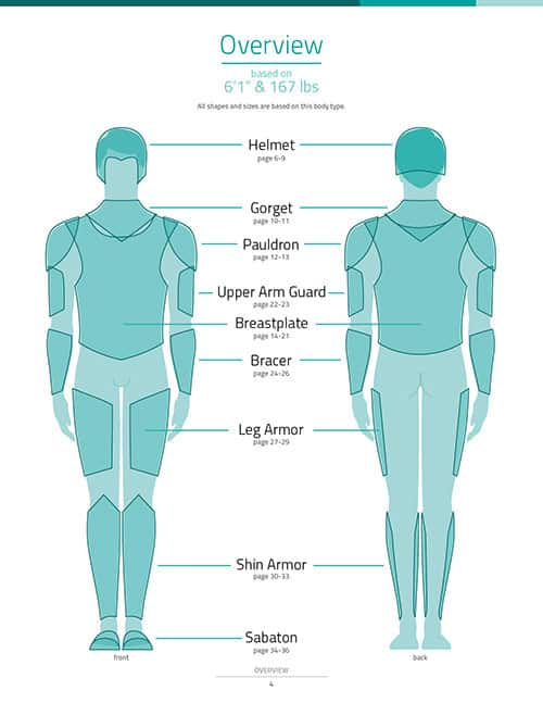 Male Armor Pattern Collection - DOWNLOAD|PDF - KamuiCosplay