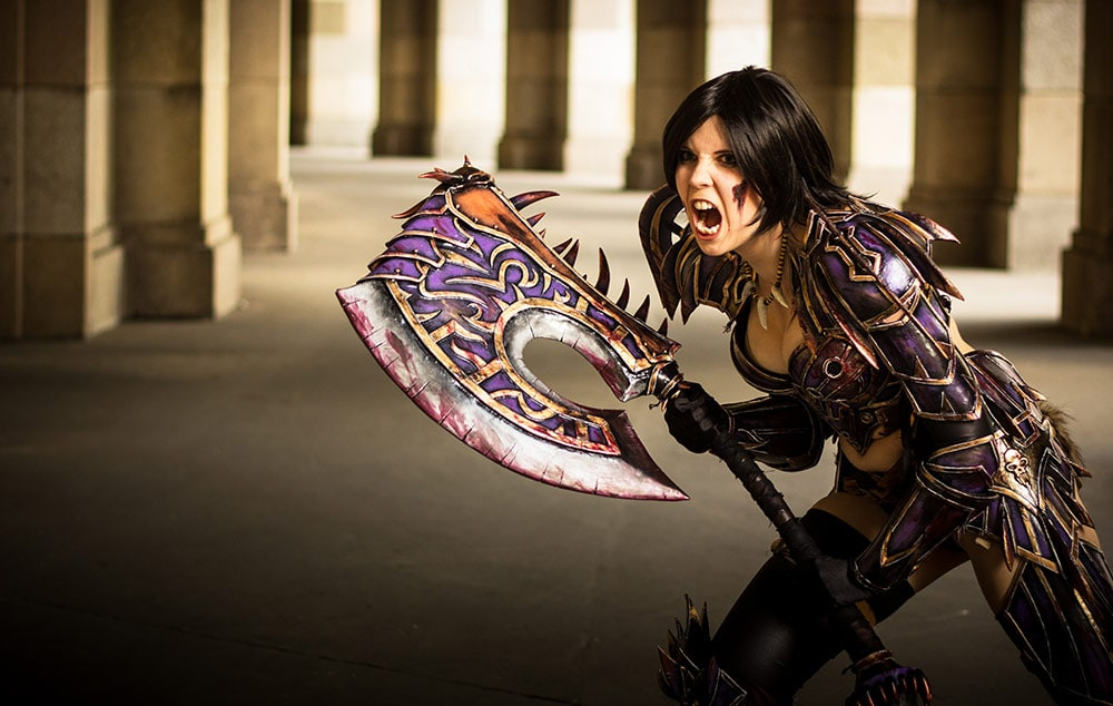 If you are interested in making costumes yourself  please check out my    World Of Warcraft Cosplay Warrior