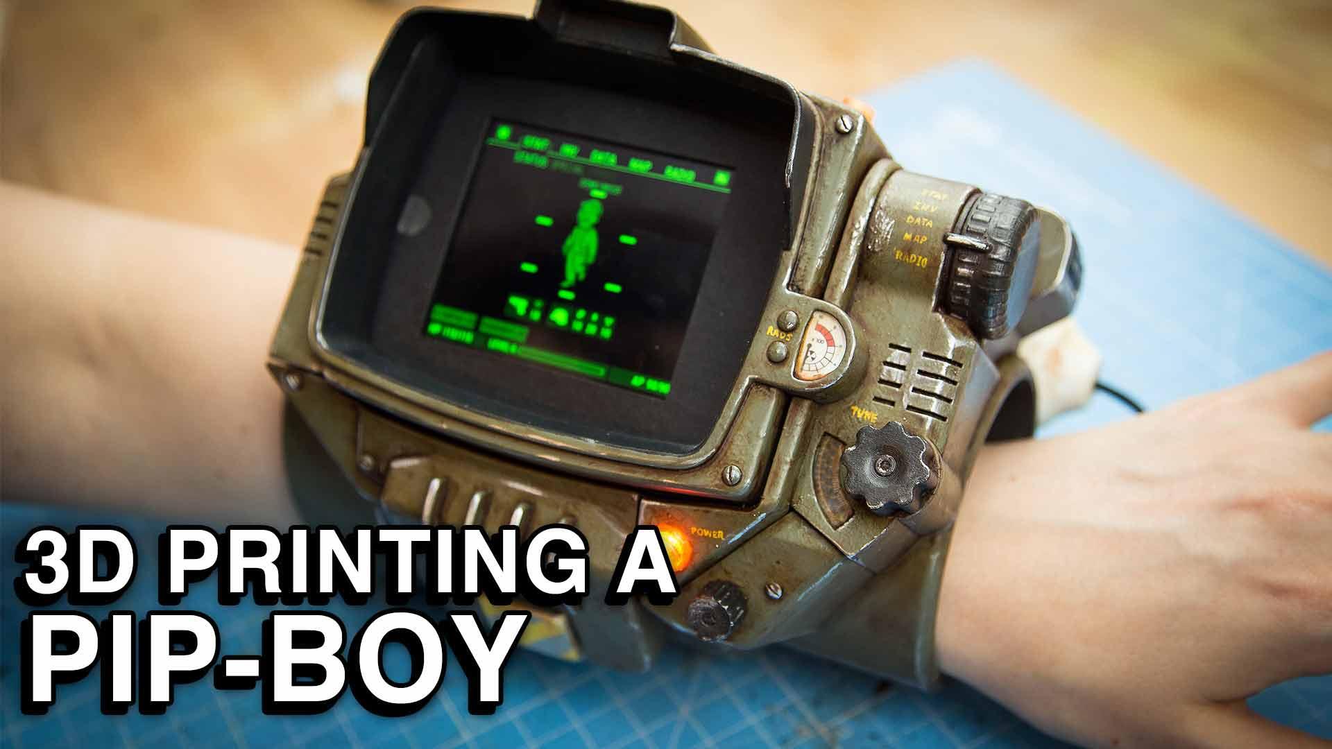 3D printing a Pip-Boy