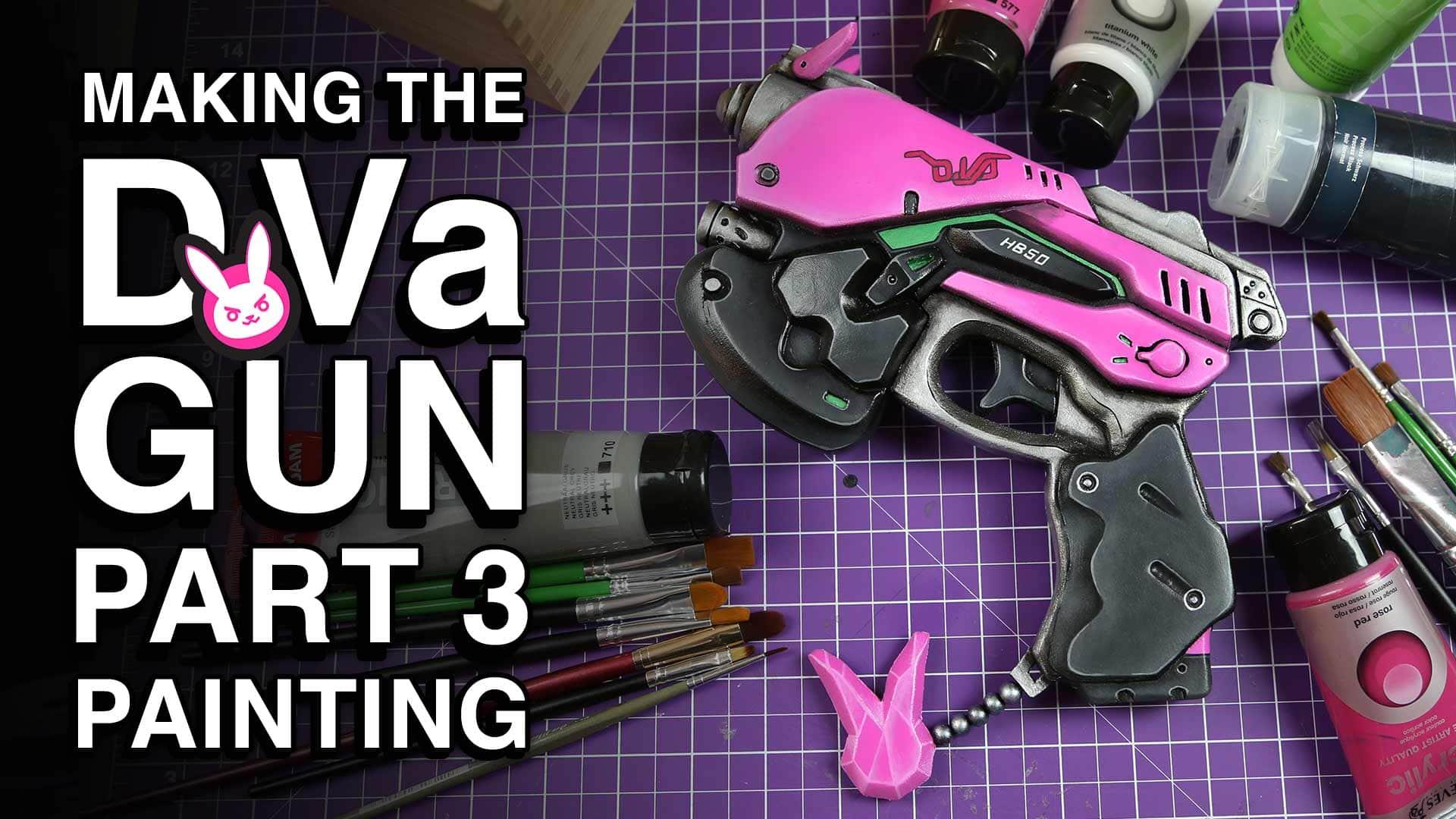 D.Va Gun Part 3 Painting