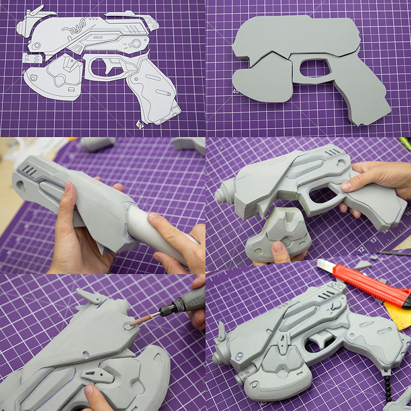 EVA Foam: Affordable costumes and props! - KamuiCosplay
