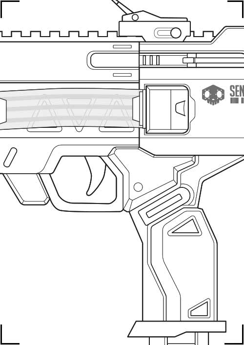 Sombra machine pistol blueprint download for How to draw blueprints online