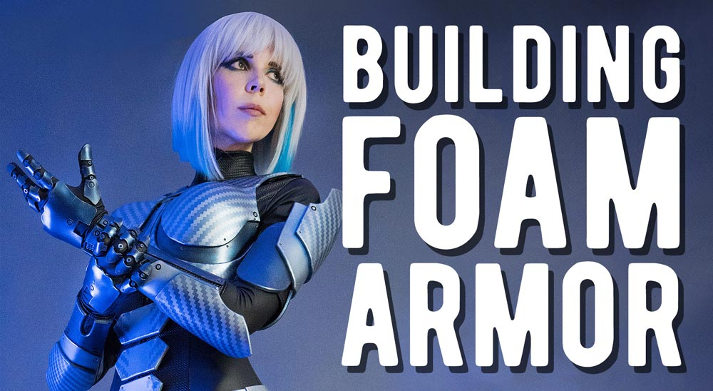 Creating costumes with EVA foam
