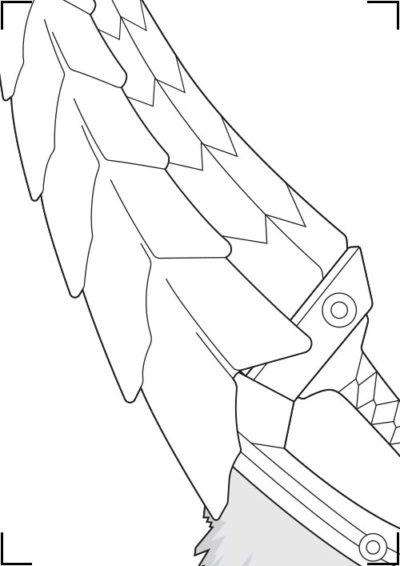 Monster_Hunter_Zinogre_Dualblades_Blueprint_2