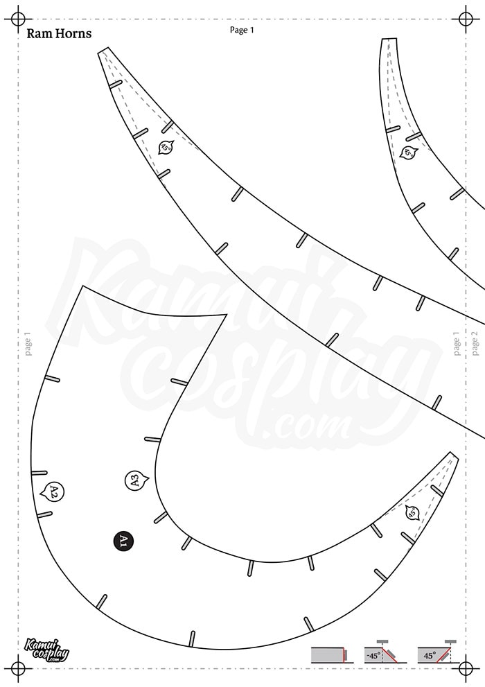 Foam Horn Pattern Collection Download Pdf