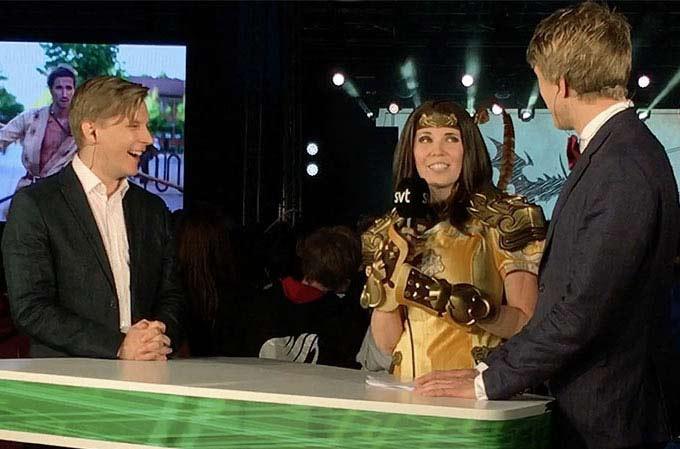 Kamui-Cosplay-Närcon-NCC-Television-Host