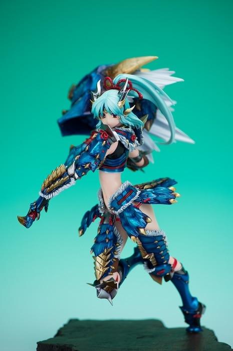 monster hunter female armor art