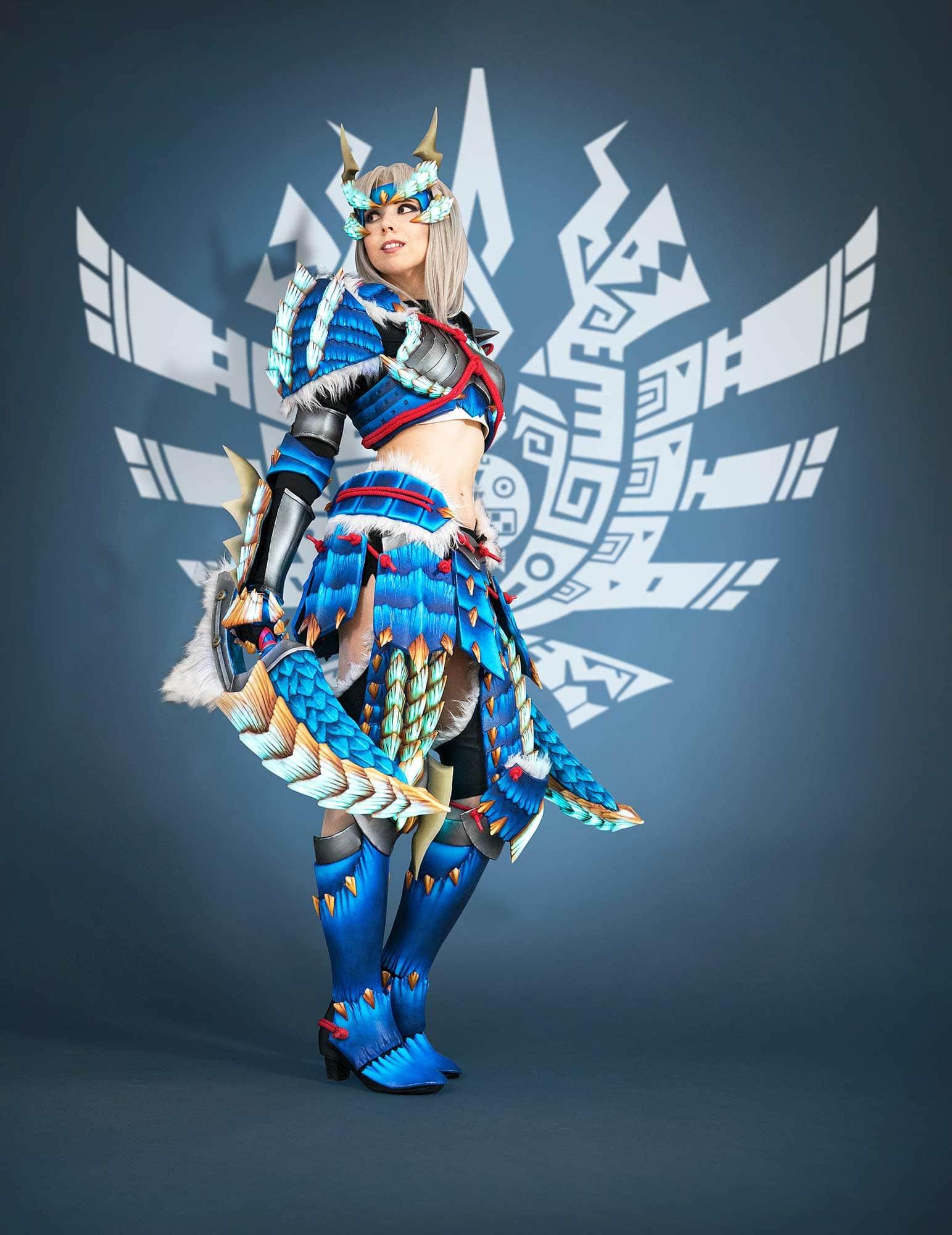 Zinoge Armor Monster Hunter Cosplay Costume
