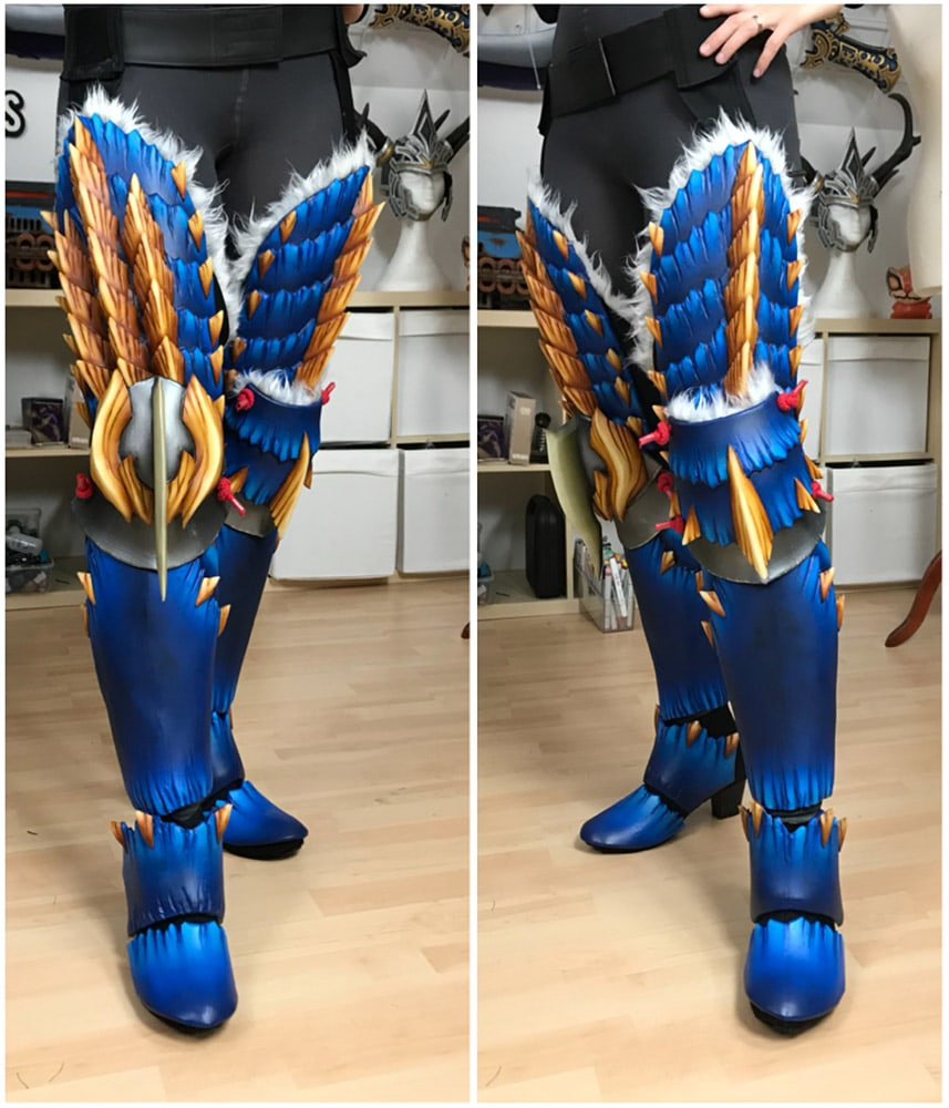 Zinogre Armor - Monster Hunter Cosplay Progress