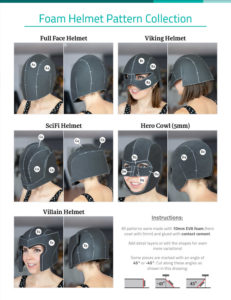 02_Foam_Helmet_Pattern_Collection_Kamui_Cosplay